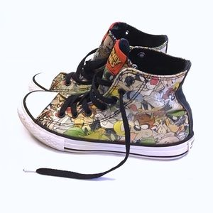 Boys All Star Converse Looney Tunes Sneakers